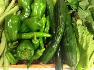 20140720_Green veggies
